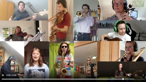 Online-Musikprojekt am Ernestinum