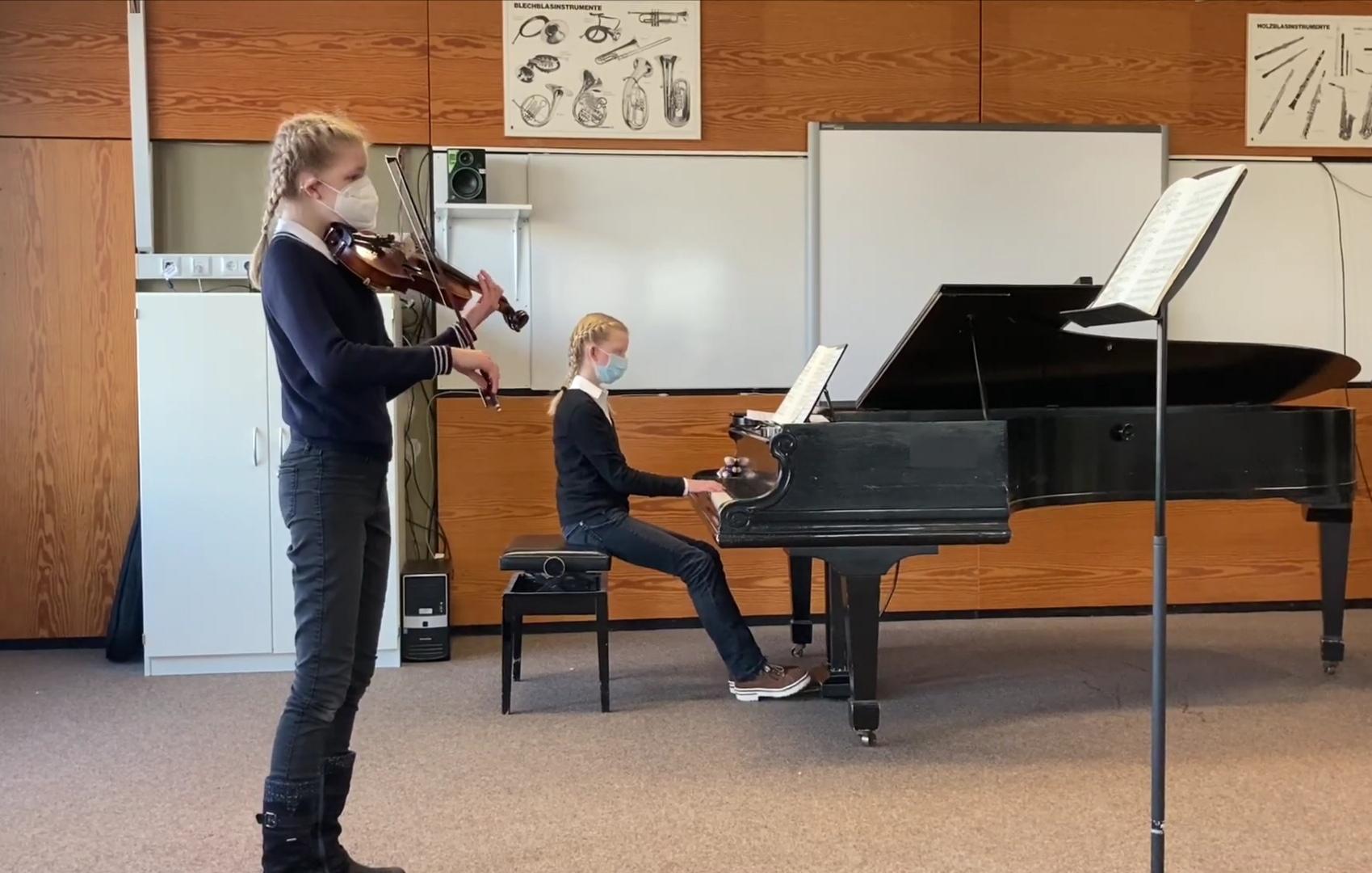 1. und 2. Preise im Landeswettbewerb Jugend musiziert